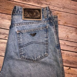 Vintage Armani Mom Jeans Made in Italy 33